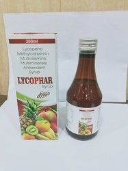 Lycopene Methylcobalamine Multivitamin Multiminerals Antioxidant Syrup