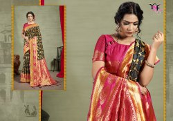 Asian Silk Vol 1 Muga Art Silk Saree By Yadu Nandan Fashion