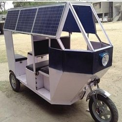 Solar Powered Rickshaw Project Report Consultancy