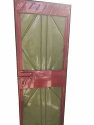 Paint Coated Iron Door, For Commercial, Single