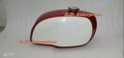 Bmw R100 Rt Rs R90 R80 R75 Steel Red And White Painted Gas Fuel Petrol Tank Monza