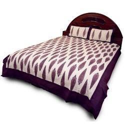 Sanganeri Print Cotton Bed Sheet Set 609