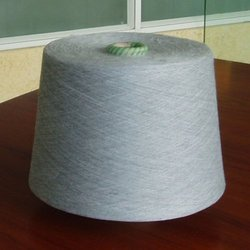 Gray Grey Cotton Yarn, For Knitting, Weaving
