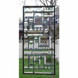 Rectangular Beveled Glass, For Window, 8 Mm