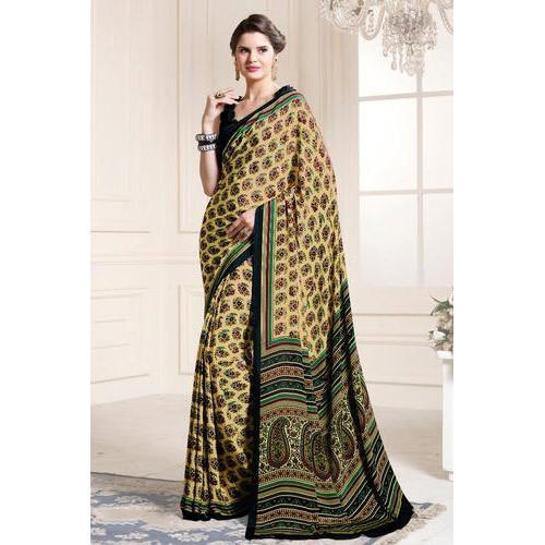 68a3c90ff Ladies Cotton Saree With Blouse Piece