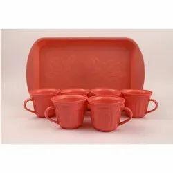 Plastics Tea Cup Set