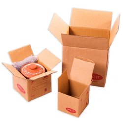 DCG Printed Brown Corrugated Boxes