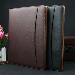 Rectangle Leather Conference Folder, For Office