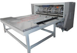 Combined Creaser Slotter Machine