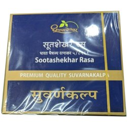 Suvarna Sutshekhar Rasa, Packaging Type: Box