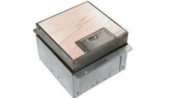 Square Electrical Floor Junction Box