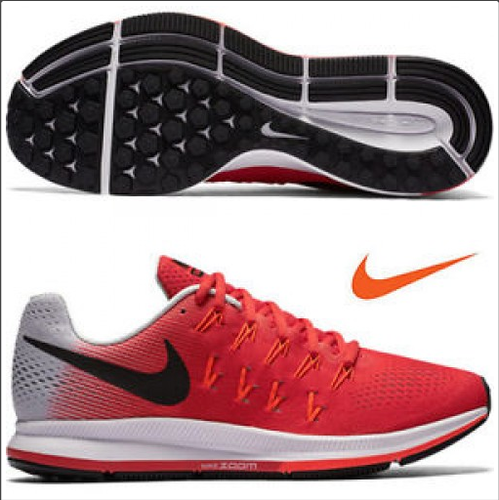 5ec6a38213d5d Red And Black And Red And White Men MV80700 Nike Air Pegasus 33 Running  Shoes Replica
