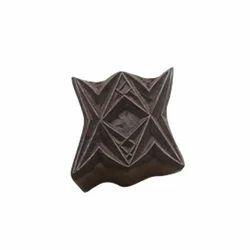 Fabric Print Wooden Block