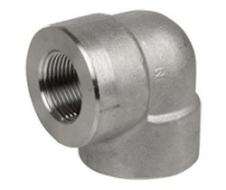 Stainless Steel Forged Threaded 90 Elbow