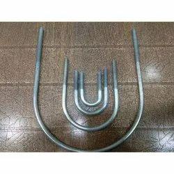 Mild Steel U Bolt, For Construction
