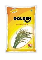 Goldenpure Physically Refined Ricebran Oil
