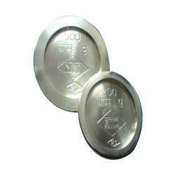 Brass Cylindrical Flat Weights