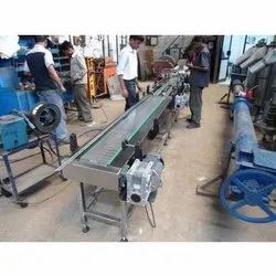 Stainless Steel Slat Chain Belt Conveyor System