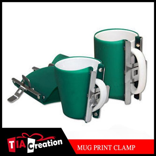 Green 3D Sublimation Mug Clamp