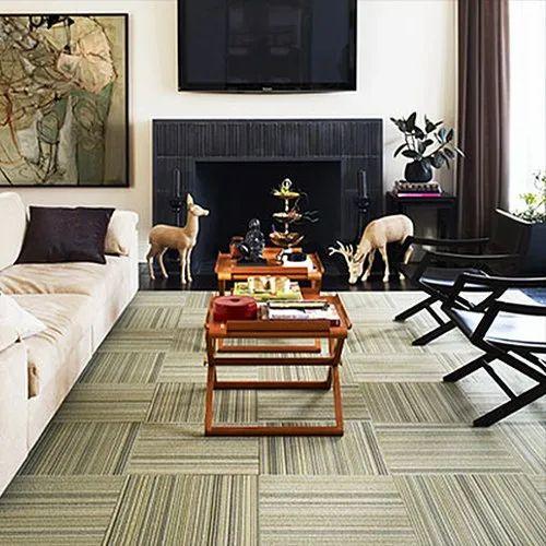 Porcelain Floor Carpet Tiles For, Using Carpet Tiles Living Room