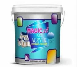Magic XT Pure Acrylic Exterior Emulsion Paint, Packaging Type: Bucket, Packaging Size: 500 Ml To 20 Liter