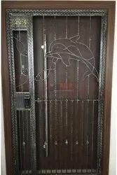 Modern Iron Main Door