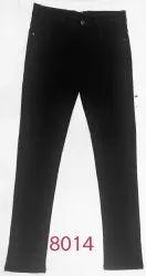 Black Men Knitted Jeans