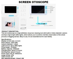 Screen Otoscope