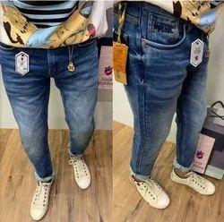 Slim Fit Mens Branded Jeans