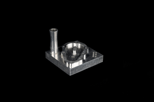 Silver Precision Machining Service, Regular, for Industrial