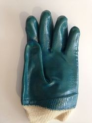 Full Coated Handgloves With Elastic