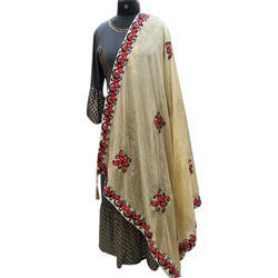 Designer Embroidered Dupatta