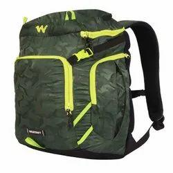 Widcraft Rexin Camo Green Travel - Trekking Bag