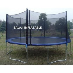 12' Trampoline Netting Outer Safety Net Without 6 Poles