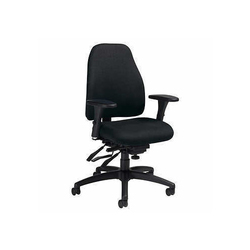 Polyester Black Computer Office Chair