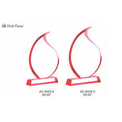 Acrylic Pink Flame Awards