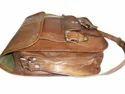 Beautiful Goat Leather Messenger Bag