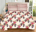 Pure Cotton Printed Double Bedsheet