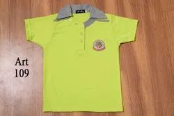 Half Sleeves Kids Polo T Shirt