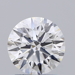 1.53ct Lab Grown Diamond CVD G VVS2 Round Brilliant Cut IGI Crtified Type2A