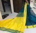 Maheshwari Pure Silk Saree