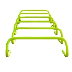 PVC Fl. Yellow The Universe Sports Speed Hurdles