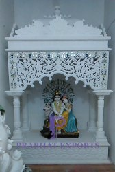 Marble Mundups and Temple Work for Placing Statues