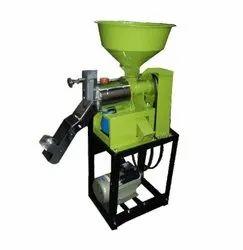 IMM 3HP Mini Rice Mill 6N40 CHROME, Capacity: 150-170 kg/hr