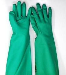 Nitrile Rubber Hand Gloves Midas Make