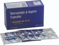 Atorvastatin 10/20 Mg Aspirin 75 Mg Capsules