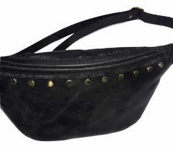190a10561e Black Mon Exports Genuine Leather Waist Bag
