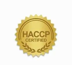 HACCP Certificate for Industrial