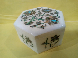 Decorative New Design Hand Inlay Work Marble Box