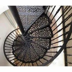 Cast Iron Spiral Staircase, For Home